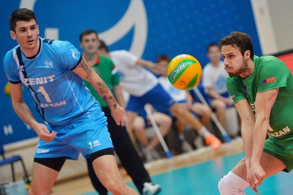 Волейболисты казанского Зенита Мэтью Андерсон и Теодор Салпаров (слева направо)