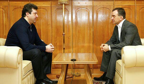 Олег Мкртчан (слева) и Вениамин Кондратьев