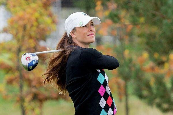 Российская гольфистка Мария Верченова (Баликоева)