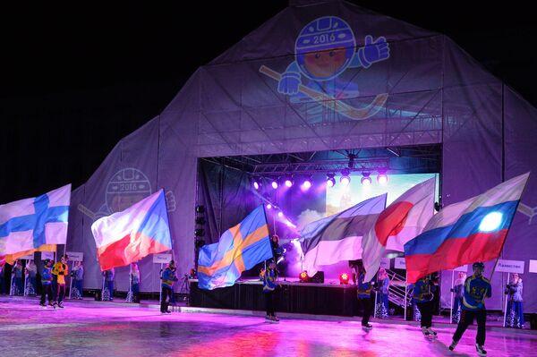 Церемония закрытия чемпионата мира по хоккею с мячом в Ульяновске