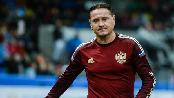 Игрок сборной России Дмитрий Аленичев
