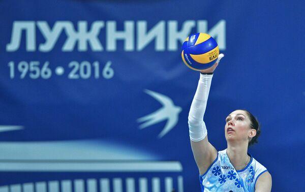 Волейболистка Динамо-Казань Екатерина Гамова