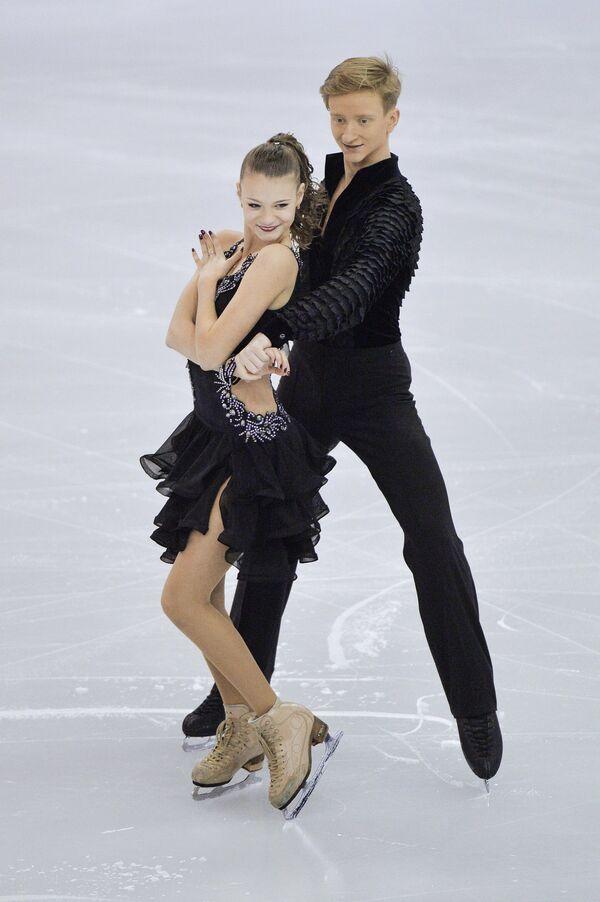 Анастасия Скопцова и Кирилл Алёшин