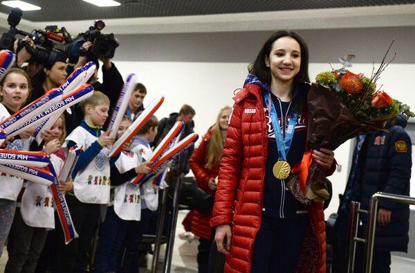 Фигуристка Полина Цурская