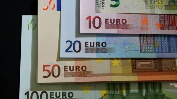 Денежные Купюры евро разного номинала