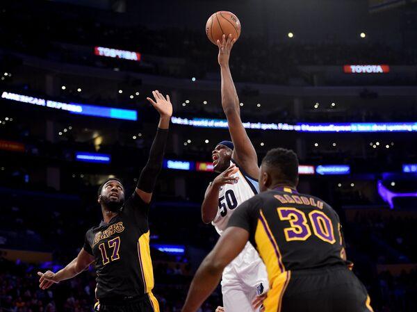 Форвард клуба НБА Мемфис Гриззлис Зак Рэндольф (№50)