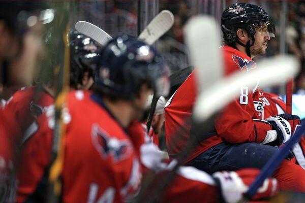 Форвард клуба НХЛ Вашингтон Кэпиталз Александр Овечкин (№8)
