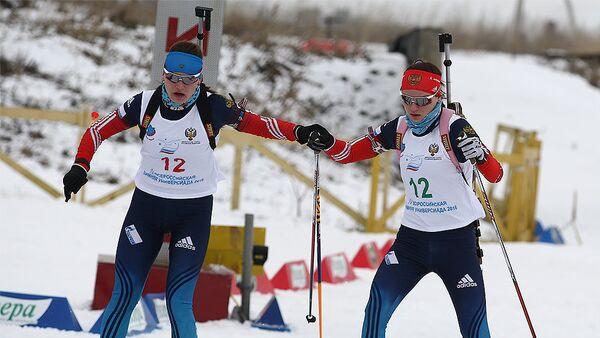 Ирина и Елена Кручинкины (слева направо)