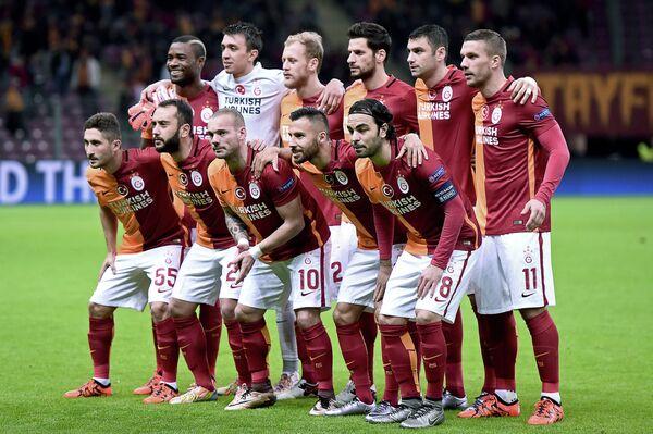 Футболисты турецкого Галатасарая