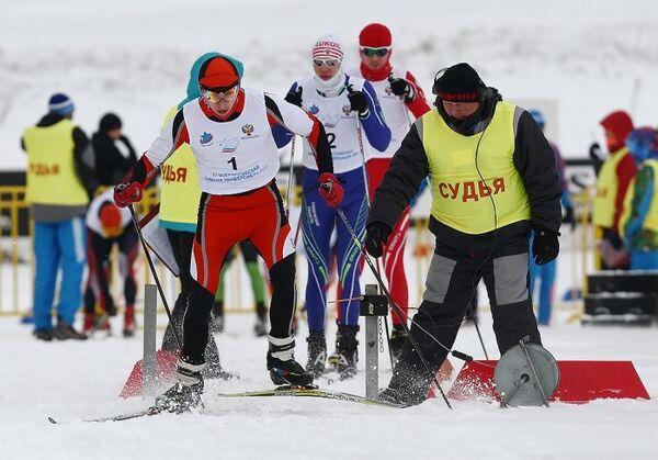 Лыжные гонки на Универсиаде в Саранке