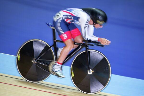 Британская велогонщица Лора Тротт
