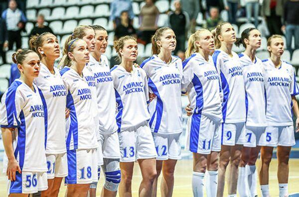 Баскетболистки московского Динамо