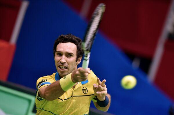 Теннисист сборной Казахстана Михаил Кукушкин