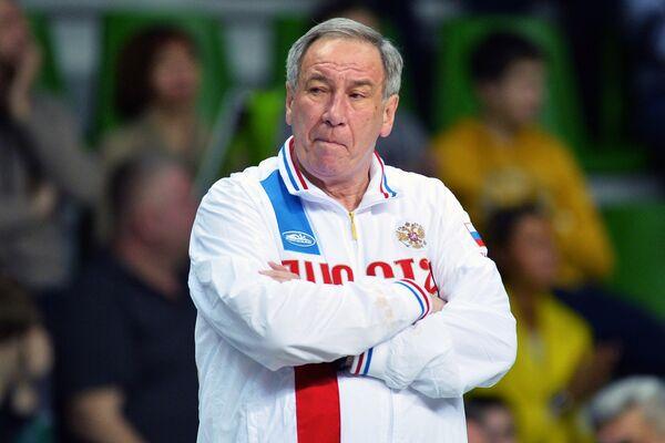 Капитан сборной России Шамиль Тарпищев
