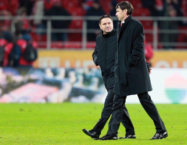 Дмитрий Аленичев (слева) и Егор Титов