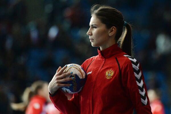 Гандболистка сборной России Екатерина Ильина