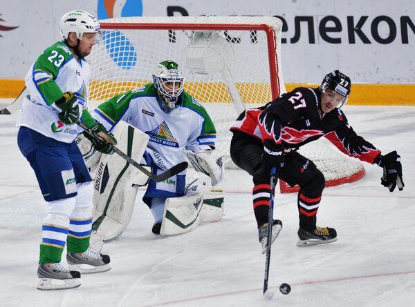 Дмитрий Макаров, Никлас Сведберг и Денис Паршин (слева направо)