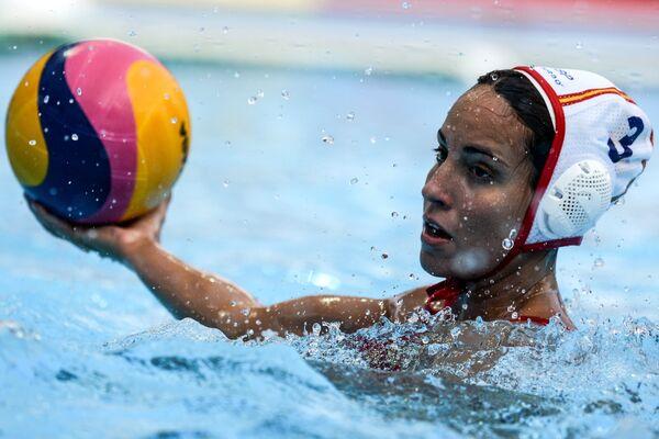 Ватерполистка сборной Испании Анна Эспар