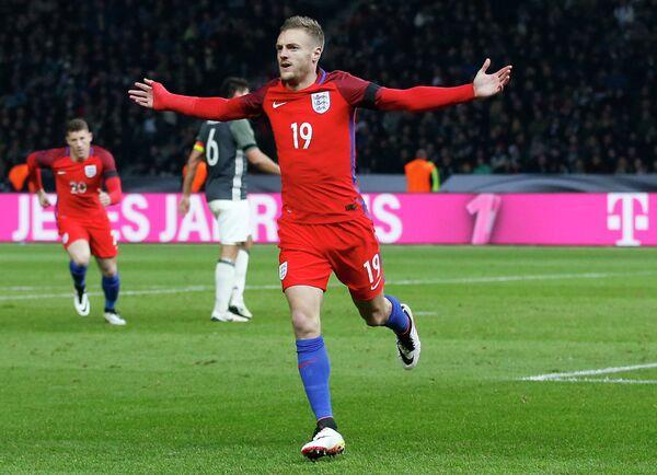 Форвард сборной Англии по футболу Джейми Варди