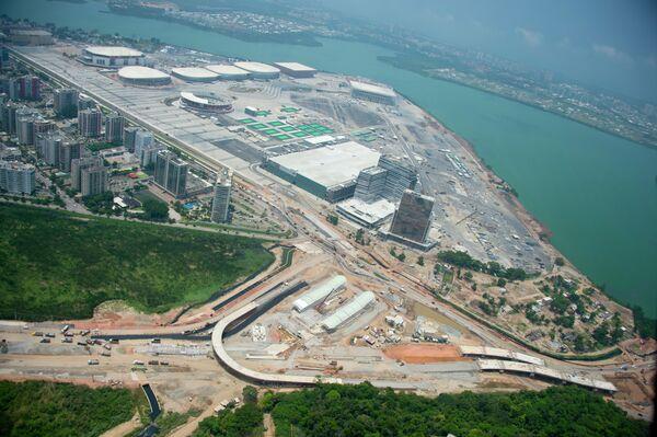 Олимпийская деревня в Рио-де-Жанейро и комплекс Deodoro