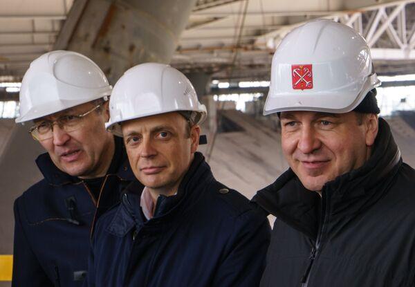 Игорь Албин, Колин Смит (справа налево)