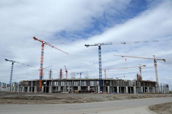 Строительство стадиона Нижний Новгород в Нижнем Новгороде