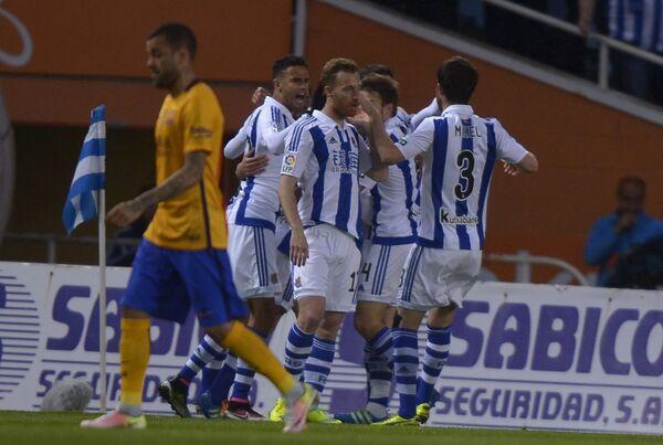 Футболисты клуба Реал Сосьедад