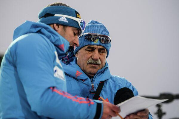 Александр Касперович (справа) и Рикко Гросс