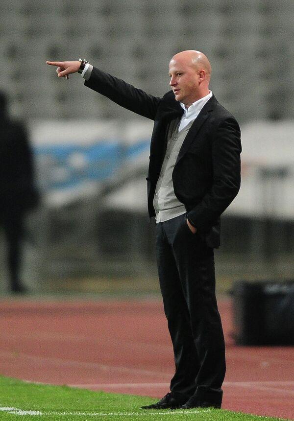 Главный тренер словенского футбольного клуба Олимпия Марко Николич