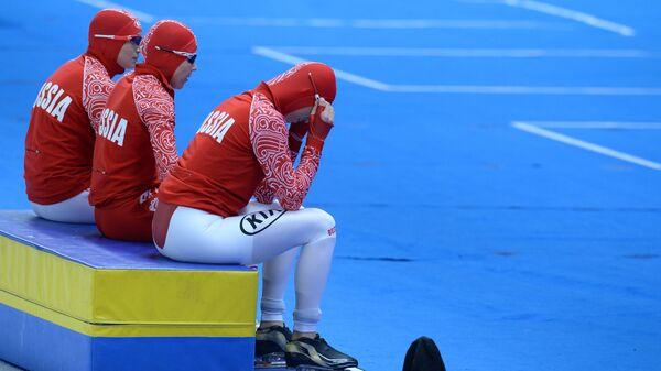 Российские конькобежцы на этапе Кубка мира в Берлине