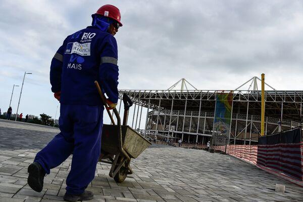 Строительство олимпийских объектов в Рио