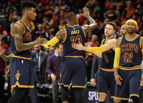 Баскетболисты Кливленда