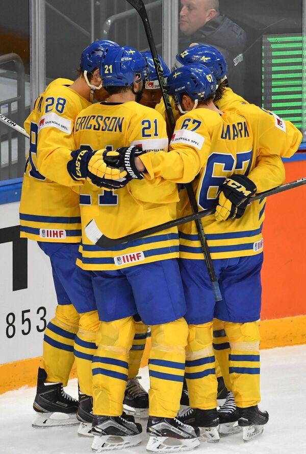 Хоккей. Чемпионат мира. Матч Швеция - Дания