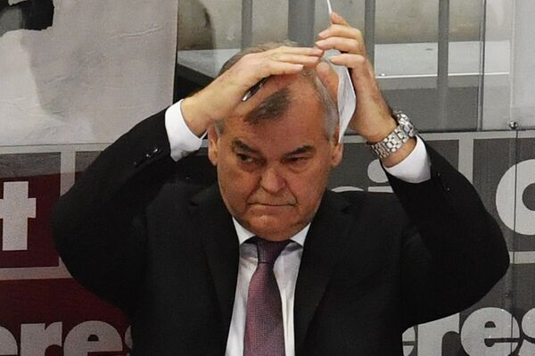 Тренер сборной Чехии Владимир Вуйтек