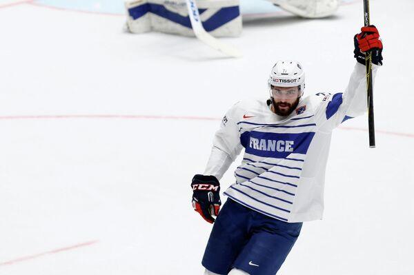 Форвард сборной Франции по хоккею Саша Трей