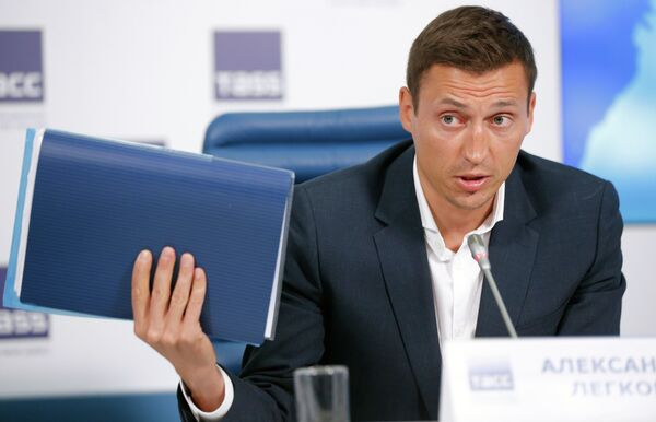 Олимпийский чемпион 2014 года по лыжным гонкам Александр Легков