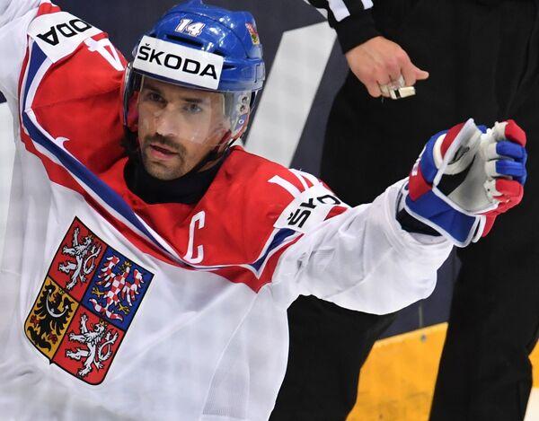 Форвард сборной Чехии Томаш Плеканец