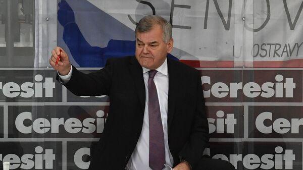 Главный тренер сборной Чехии Владимир Вуйтек
