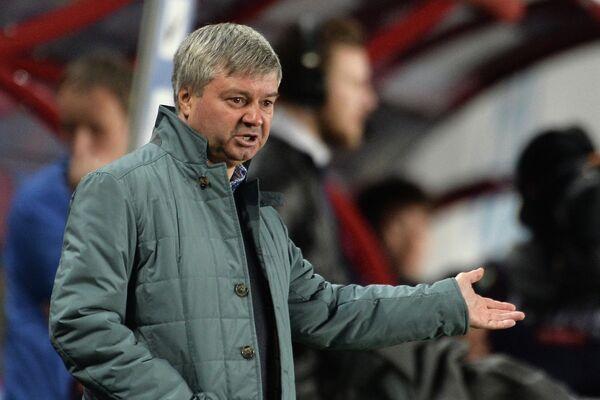 Исполняющий обязанности главного тренера Динамо Сергей Чикишев