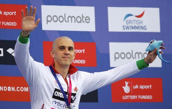 Чешский пловец Ласло Чех