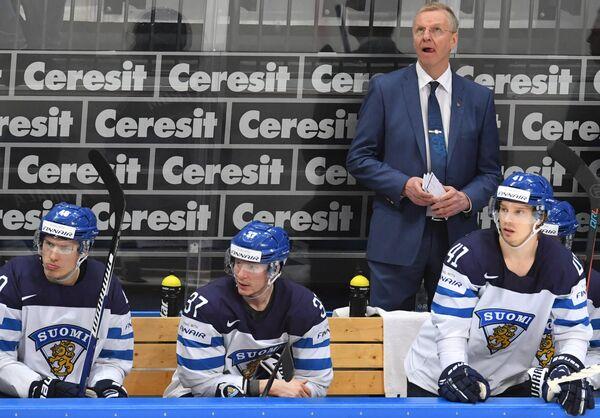 Главный тренер сборной Финляндии Кари Ялонен