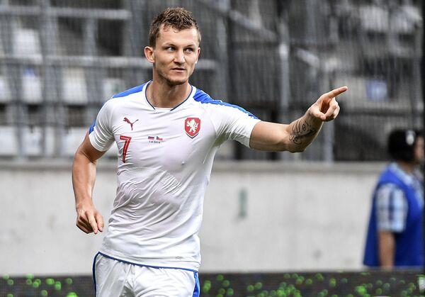 Форвард сборной Чехии Томаш Нецид
