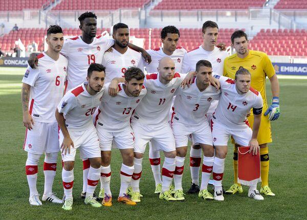Футболисты сборной Канады