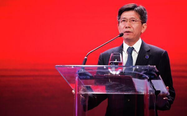 Президент Федерации автомобильного и мотоциклетного спорта Китая Гоцзюнь Чжань