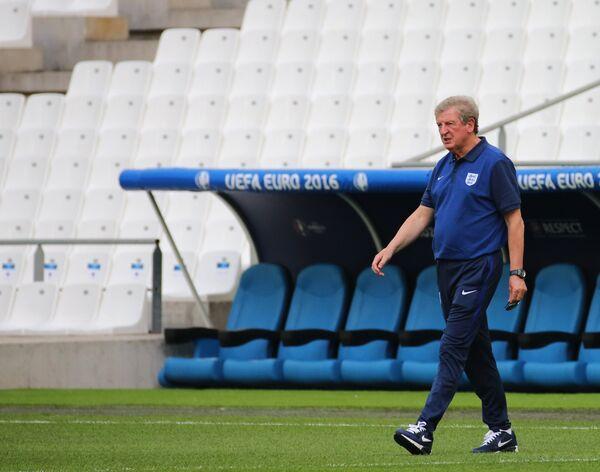 Главный тренер сборной Англии Рой Ходжсон
