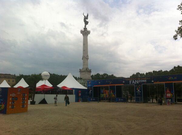Фан-зона в Бордо