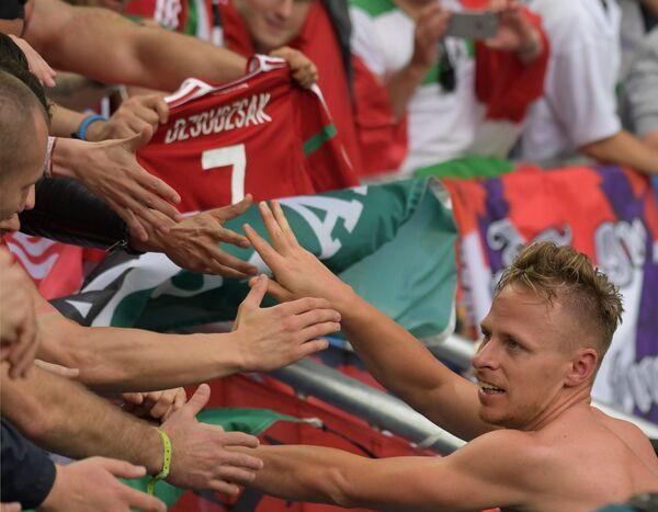 Полузащитник сборной Венгрии Балаж Джуджак