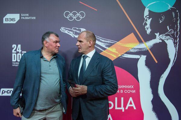 Александр Карелин и Сергей Мирошниченко (слева)