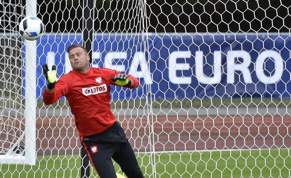 Вратарь сборной Польши по футболу Артур Боруц