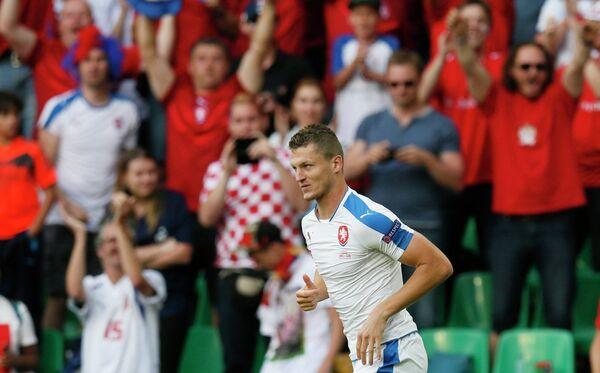 Нападающий сборной Чехии Томаш Нецид